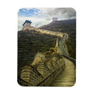 Encima de la Gran Muralla Imán