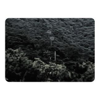 """Encima de la montaña usando los teleféricos invitación 5"""" x 7"""""""