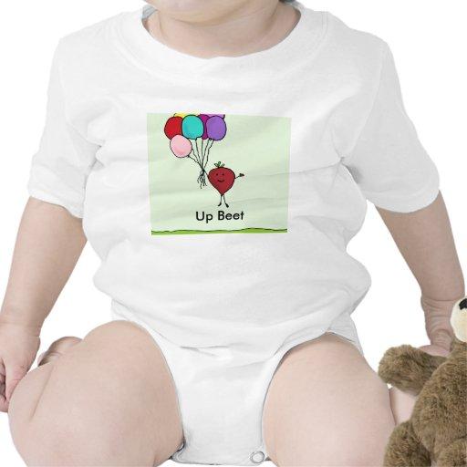 Encima de remolacha trajes de bebé