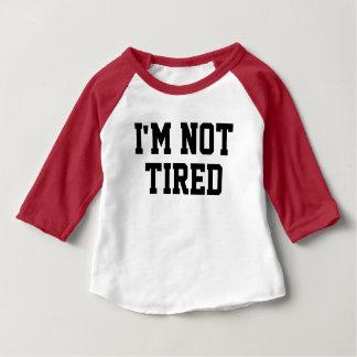 Encima de toda la camiseta del bebé de la noche playera de bebé