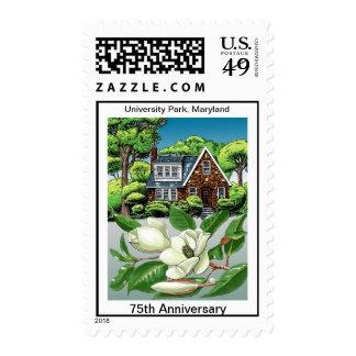 ENCIMA del 75.o sello de la casa de la magnolia de