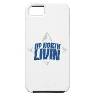 Encima del caso del norte del iPhone de Livin iPhone 5 Fundas