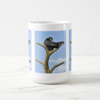 Encima del Gibbon del mundo Tazas De Café