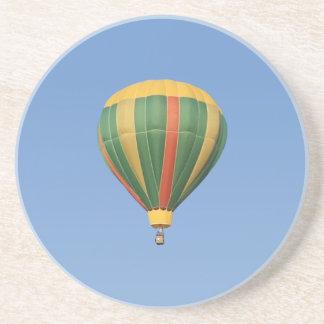 Encima del globo temprano del aire caliente posavasos personalizados