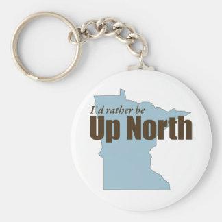 Encima del norte - Minnesota Llavero