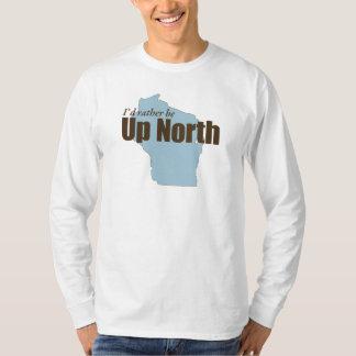 Encima del norte - Wisconsin Playera