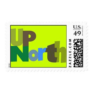 Encima del sello del norte