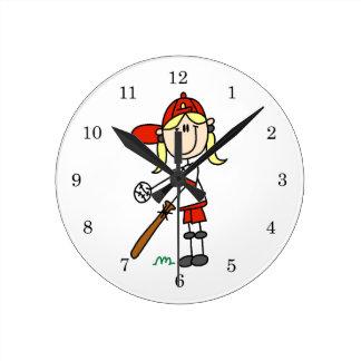 Encima en de la figura regalos del palillo del chi relojes de pared