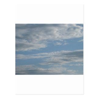 Encima en del aire tarjetas postales