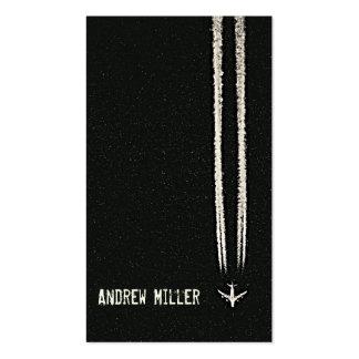 Encima en del piloto del cielo/del aeroplano de la tarjetas de visita