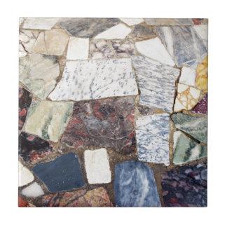 Encimera de Pompeya Azulejo Cuadrado Pequeño