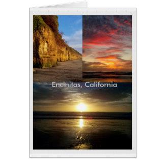 Encinitas Beach, California Card