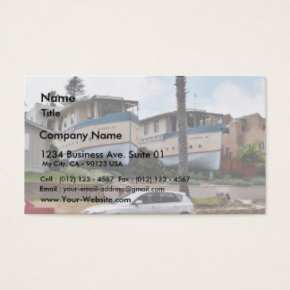 Encinitas Boat Houses Business Card