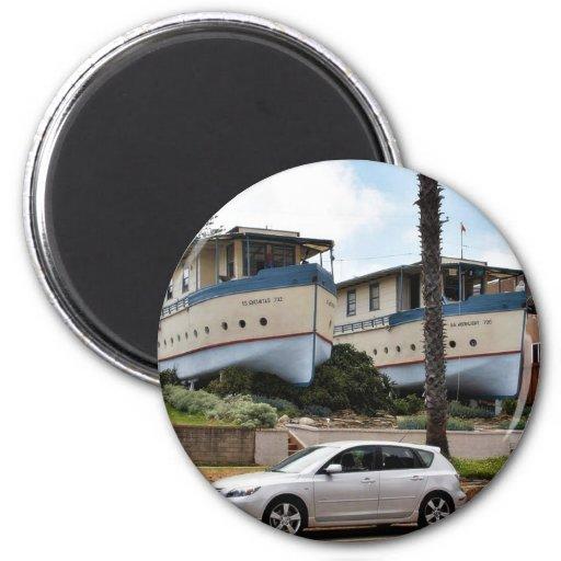 Encinitas Boat Houses Magnet