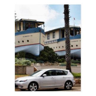 Encinitas Boat Houses Post Card