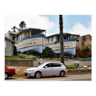 Encinitas Boat Houses Postcard