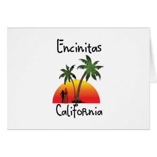 Encinitas California. Card