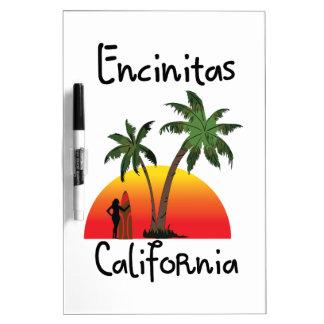 Encinitas California. Dry Erase Board