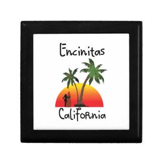 Encinitas California. Keepsake Box