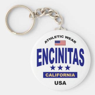 Encinitas California Keychain