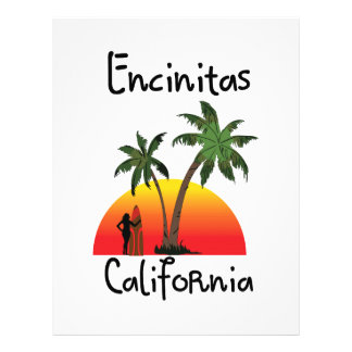 Encinitas California. Letterhead