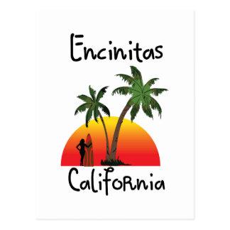 Encinitas California. Postcard