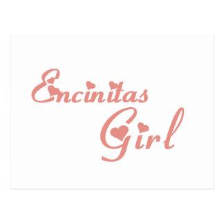 Encinitas Girl tee shirts Post Cards