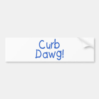 Encintado Dawg (3) Pegatina Para Coche