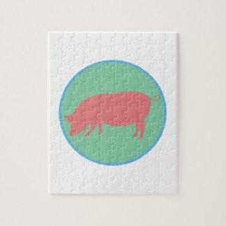 Encircled Swine Puzzles