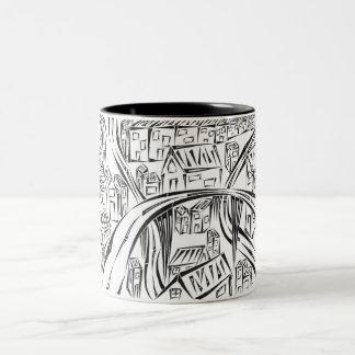 Encircled Town Mug