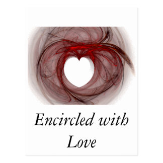 Encircled with Love Postcard