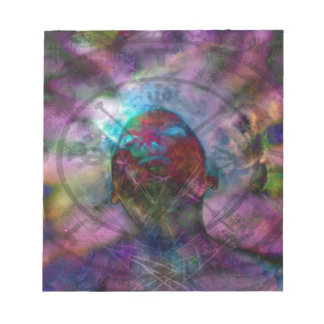 Encircling Divinity Note Pads