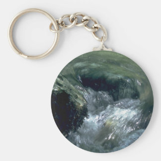 Encircling The Rocks Keychain
