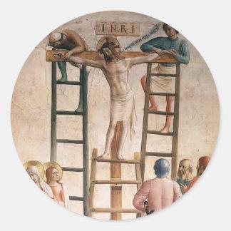 Enclavación del Fra Angelico- de Cristo a la cruz Etiquetas