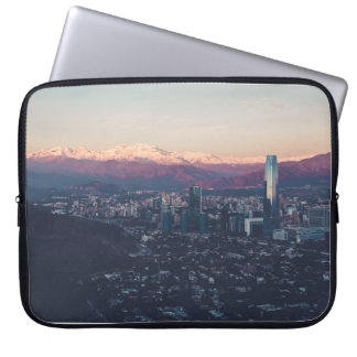 Enclosed city laptop sleeve