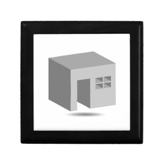 Enclosed space with opening jewelry box