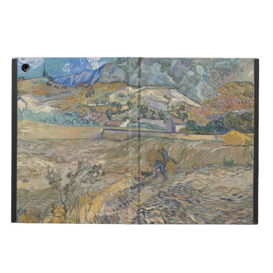 Enclosed Wheat Field with Peasant by Van Gogh iPad Air Case