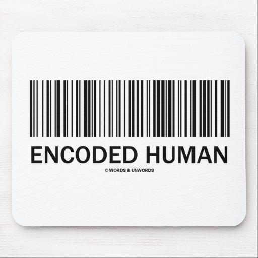 Encoded Human (Barcode Attitude) Mousepad