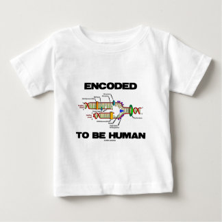 Encoded To Be Human (DNA Replication) Baby T-Shirt