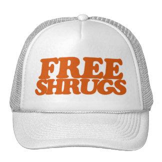 Encogimientos de hombros libres gorra