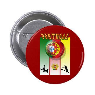 Encontra de Arte e Futebol - Futebol Portuês Pin
