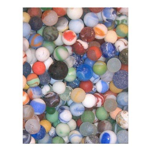 """Encontrado en los mármoles de la playa folleto 8.5"""" x 11"""""""