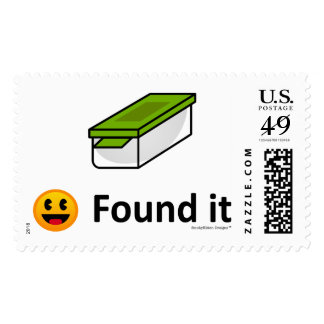 Encontrado lo - Geocaching Timbres Postales