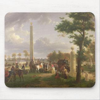 Encontrando entre Napoleon I y al papa Alfombrilla De Ratones