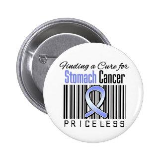 Encontrando una curación para el cáncer de estómag pin redondo de 2 pulgadas