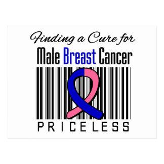 Encontrando una curación para el cáncer de pecho tarjeta postal