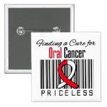 Encontrando una curación para el cáncer oral INEST Pin
