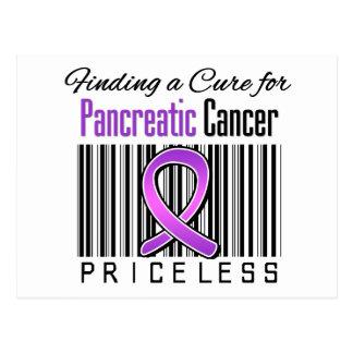 Encontrando una curación para el cáncer pancreátic tarjetas postales