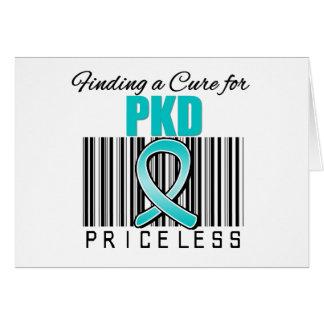 Encontrando una curación para PKD INESTIMABLE Tarjeta De Felicitación