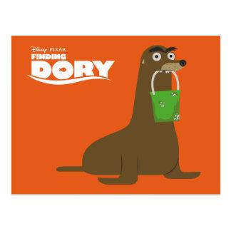 Encontrar el Dory el   Gerald Postales